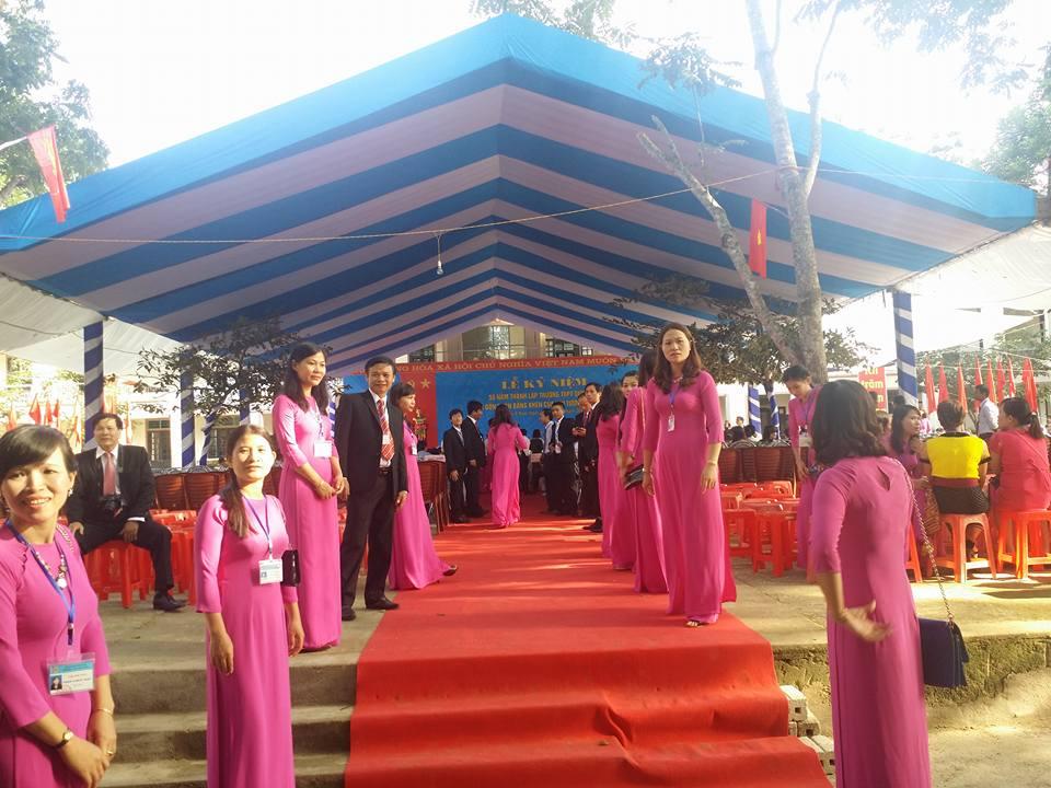 lễ kỷ niệm thành lập trường ptth quỳ châu