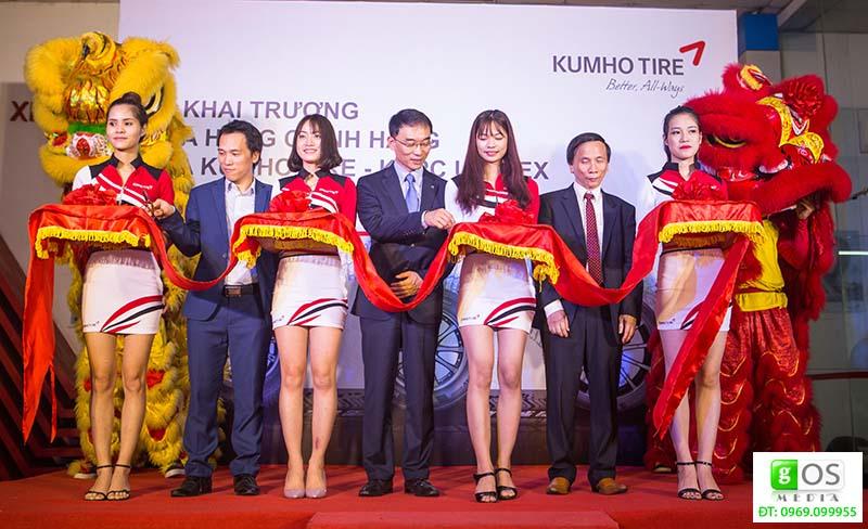 lễ khai trương đại lý kumho tire tại Nghệ An