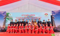 Lễ khởi công TTTM kết hợp chợ truyền thống Đô Lương