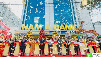 Lễ khai trương Nam A Bank Nghệ An